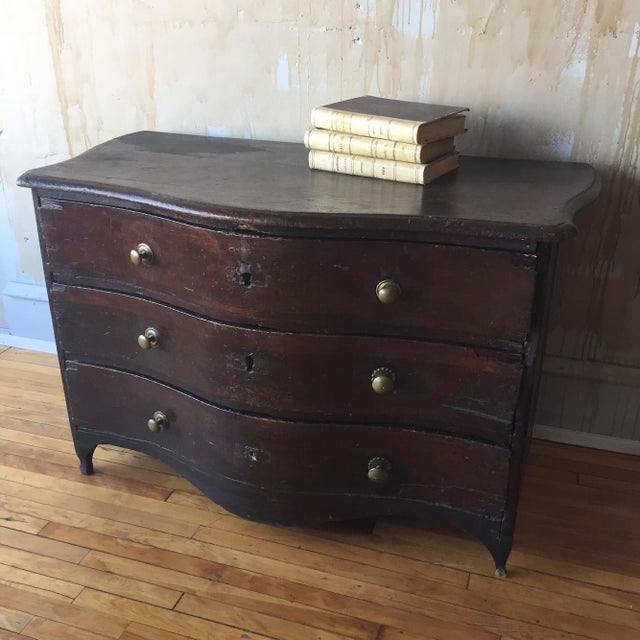 Rustic 18th Century Chest of Drawers For Sale - Image 12 of 13