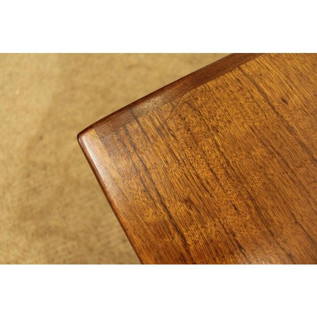 Mid-Century Danish Modern Milo Baughman Founders Walnut Burl Wood Nightstands - a Pair - Image 7 of 11