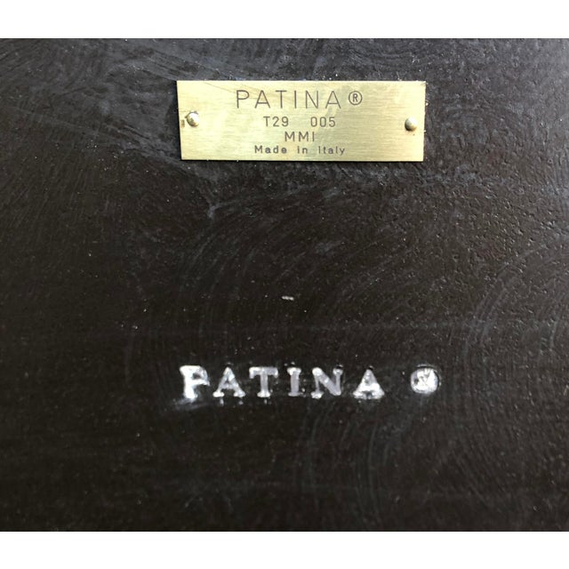 2000 - 2009 Patina Furniture Inc. Hand Painted Italian Dining Table For Sale - Image 5 of 7