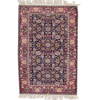 "Apadana - Antique Turkish Rug, 3'11"" x 5'9"" For Sale"