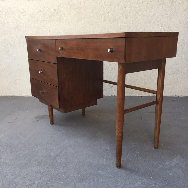Mid-Century Atomic Desk - Image 5 of 7