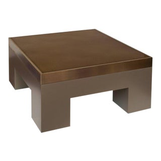 Lava Cuboid Coffee Table by Harry Clark