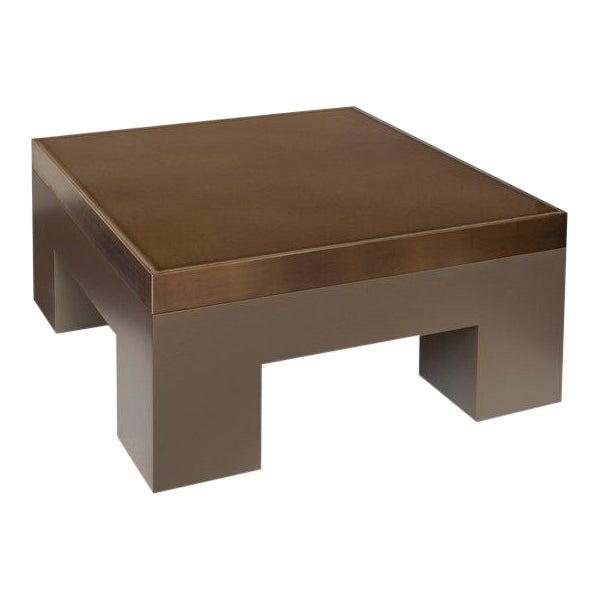 Lava Cuboid Coffee Table by Harry Clark For Sale