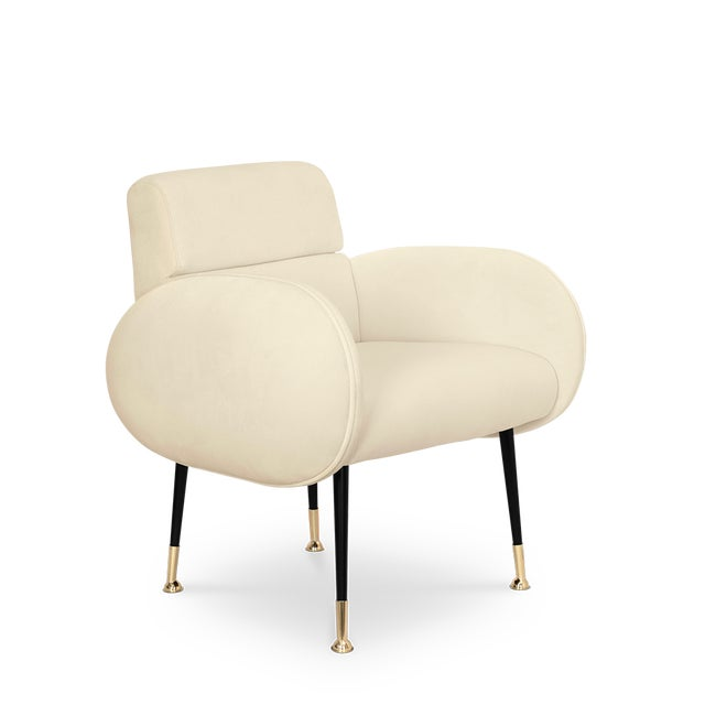 A dining chair part of the Marco collection, this mid-century piece is the ultimate chair for a luxurious dining room...