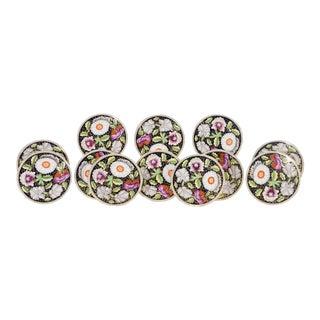 Set of 12 Copelands for Daniel, London Dessert Plates with Imari Decoration For Sale