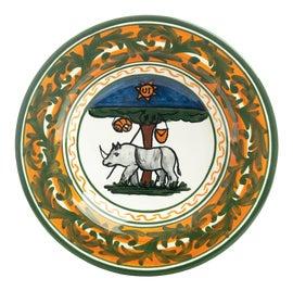 Image of Newly Made Orange Dinnerware