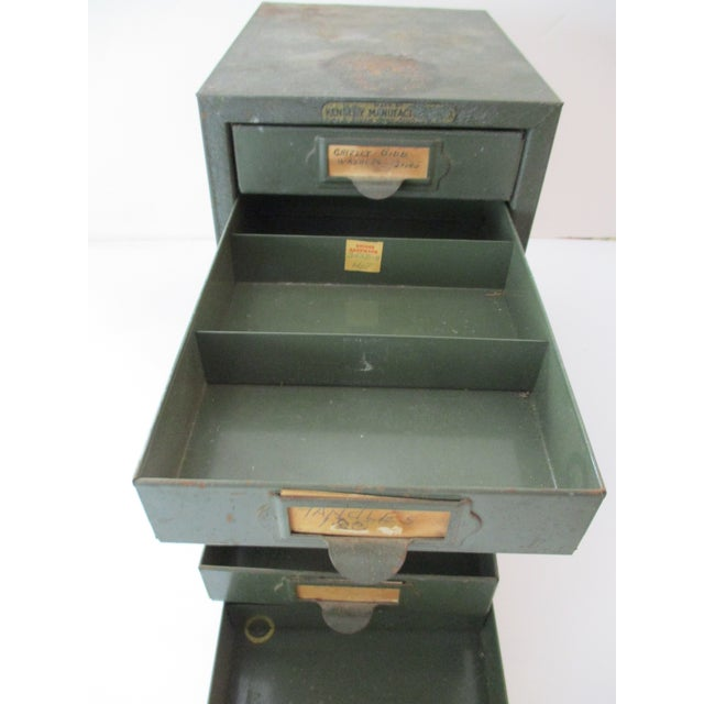 Metal Industrial Metal Tool Chest Kennedy Vintage Drawers Cabinet For Sale - Image 7 of 9
