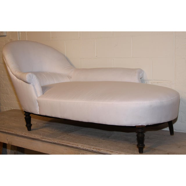 Napoleon III French Chaise Lounge For Sale In New Orleans - Image 6 of 6
