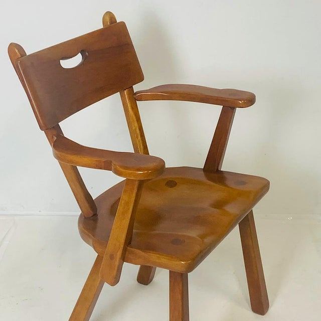 Cushman Vermont Maple Dining Chairs by Herman DeVries - Set of 6 For Sale - Image 9 of 13