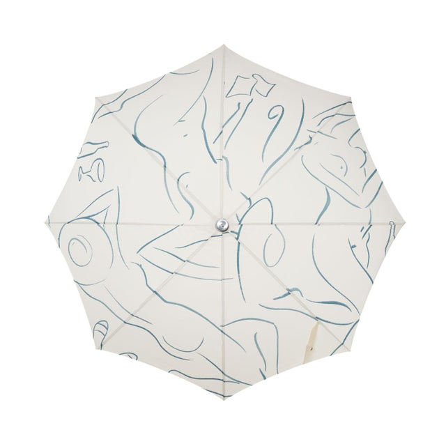 The umbrella that is as versatile as it is beautiful, built for the beach in the morning and put back up on the deck in...