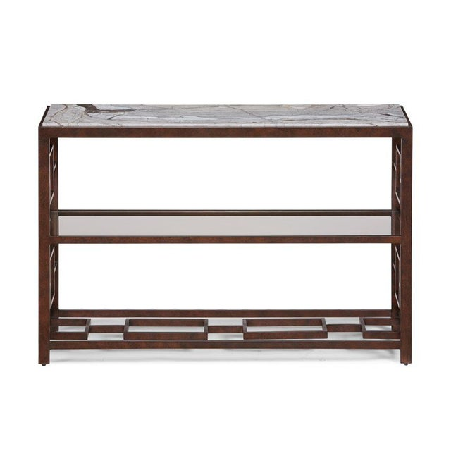 Kenneth Ludwig Chicago Marcos Console Table from Kenneth Ludwig Chicago For Sale - Image 4 of 4