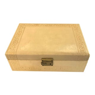 Vintage Jewelry Box For Sale