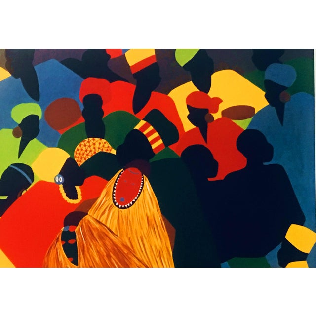 """1996 Black Heritage Art Show """"Celebration"""" Poster by Synthia Saint James For Sale In Atlanta - Image 6 of 11"""