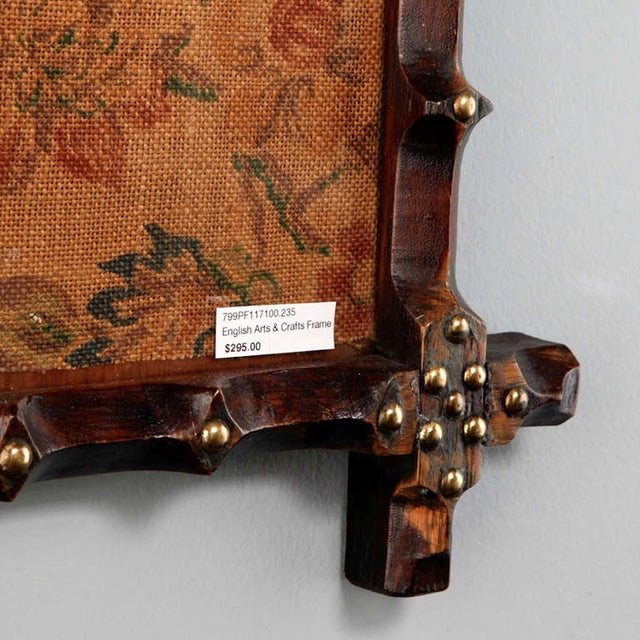 19th Century Small English Arts and Crafts Frame - Image 4 of 5