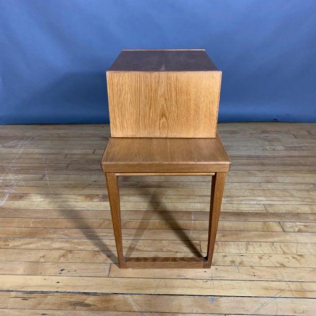 Oak Hall Table by Kai Kristiansen for Aksel Kjersgaard, Denmark 1960s For Sale In New York - Image 6 of 10