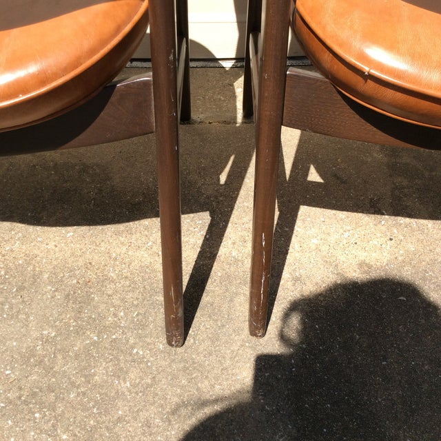 Vintage Mid Century Paoli Lounge Chairs - A Pair For Sale - Image 12 of 13