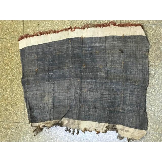 African Handwoven Kuba Cloth - Image 4 of 5