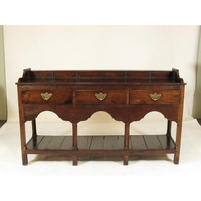18th Century Vintage Welsh Elm Sideboard For Sale - Image 12 of 12