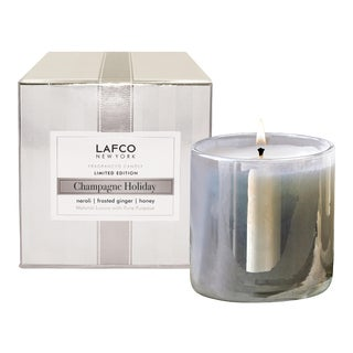 LAFCO Champagne Holiday Limited Edition Signature Candle, 15.5 oz For Sale