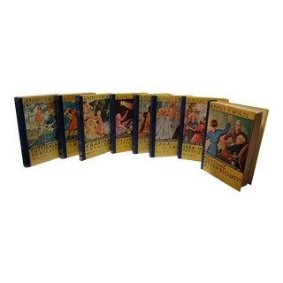 Vintage Finnish Children Annie Swain Books - Set of 8 For Sale