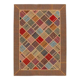 "Apadana - Persian Flat-weave, 5'8"" x 9'7"" For Sale"