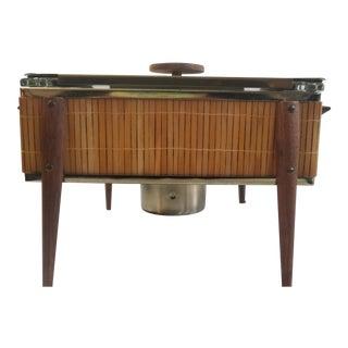 Vintage Mid Century Modern Casserole Stand For Sale