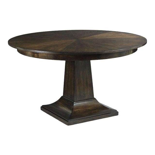 Modern Parker Pedestal Table For Sale