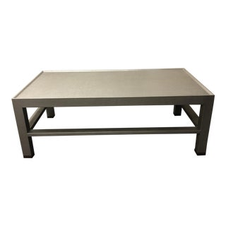 Made Goods Jarin Faux Belgian Linen Wrapped Coffee Table