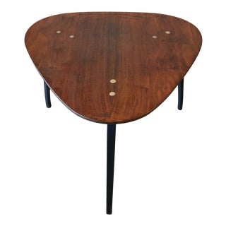 Guitar Pick Side Table by Yngve Ekström for Dux, 1965 For Sale
