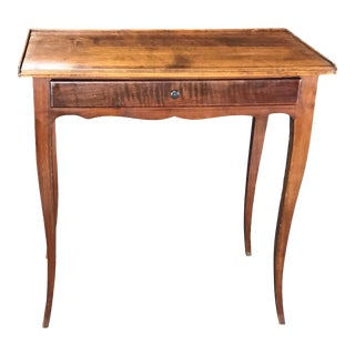19th Century French Oak Side Table For Sale