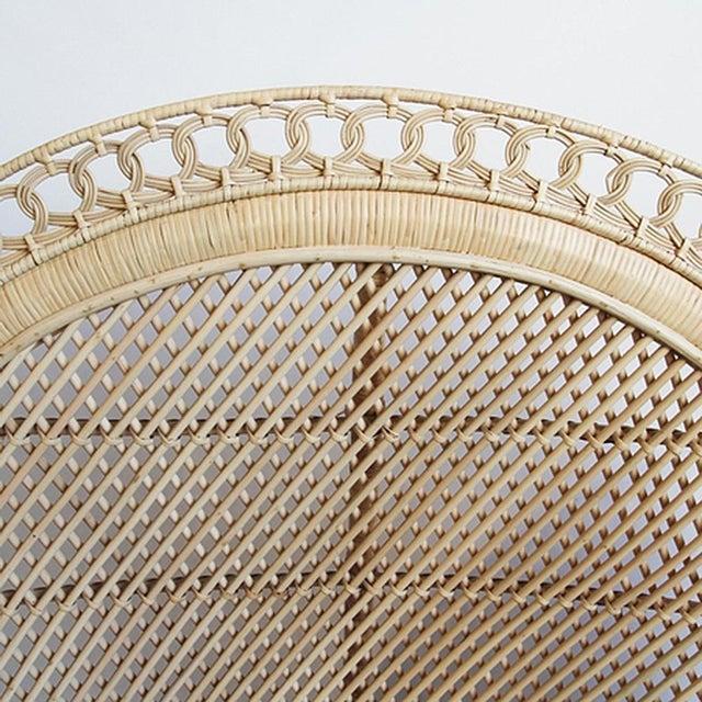 Rattan Loop Peacock Chair - Image 5 of 5