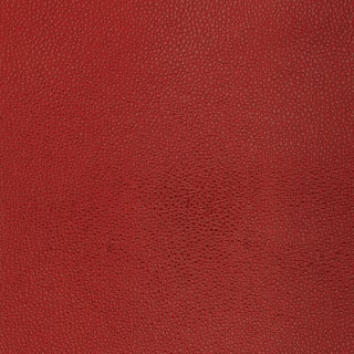 Sample - Schumacher Shagreen Wallpaper in Oxblood For Sale