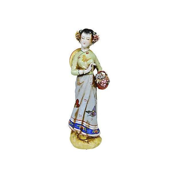 Vintage Chinese Ceramic Couple - Image 5 of 5