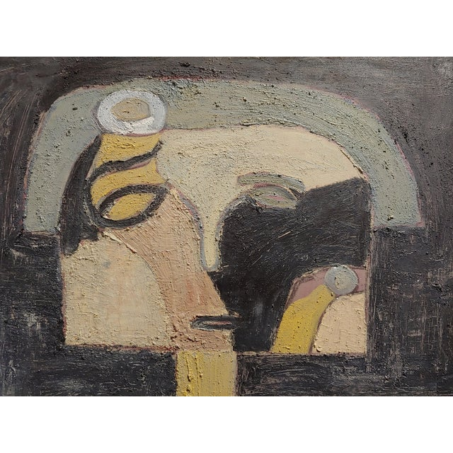 Miguel Castro Lenero -The Thinker -Abstract - Oil Painting For Sale In Los Angeles - Image 6 of 10