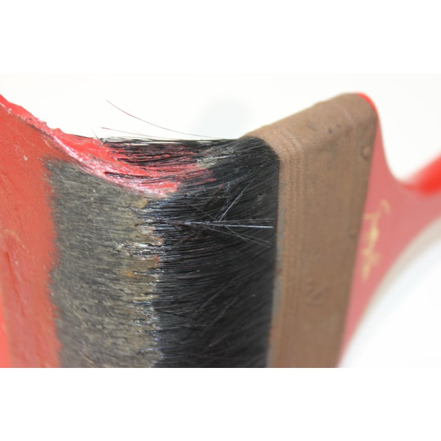 Vintage Geoffrey Rose Frozen Moments Pop Art Sculpture of a Paint Brush For Sale - Image 12 of 13