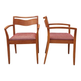 Vintage 1998 Knoll Studio Joseph and Linda Ricchio Jr Chairs - a Pair For Sale
