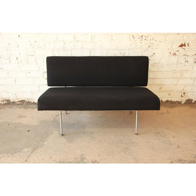 1950s Vintage Florence Knoll Settee - Image 4 of 9
