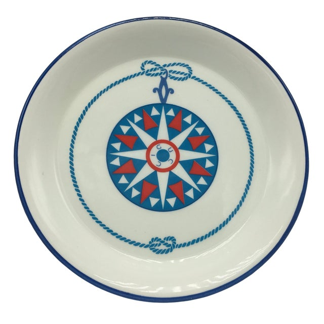 Gucci Porcelain Nautical Trinket Dish For Sale In Austin - Image 6 of 6
