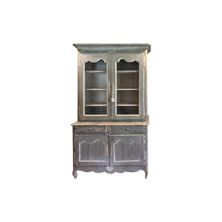 19th Century French Provincial Painted Cabinet For Sale