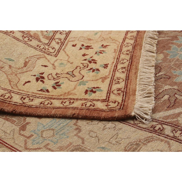 """Classic Hand-Knotted Rug, 5'2"""" X 7'6"""" For Sale - Image 4 of 5"""
