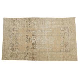 "Vintage Distressed Oushak Carpet - 5'6"" X 9'1"""
