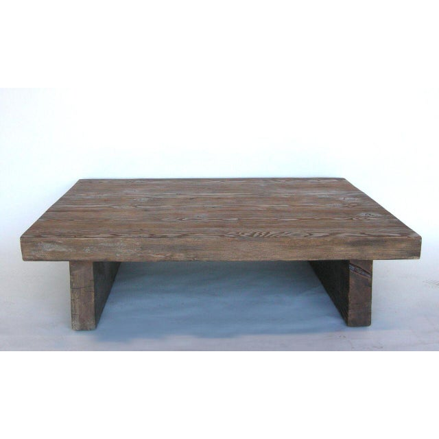 Contemporary Modern Primitive Coffee Table For Sale - Image 3 of 7