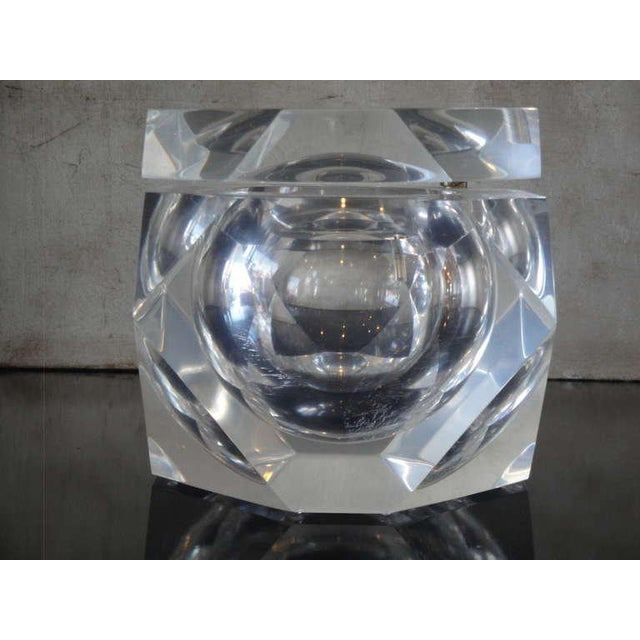 Carole Stupell Lucite Ice Bucket / Candy Dish - Image 6 of 6