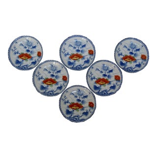 Porcelain Dipping Bowls, Set of 6