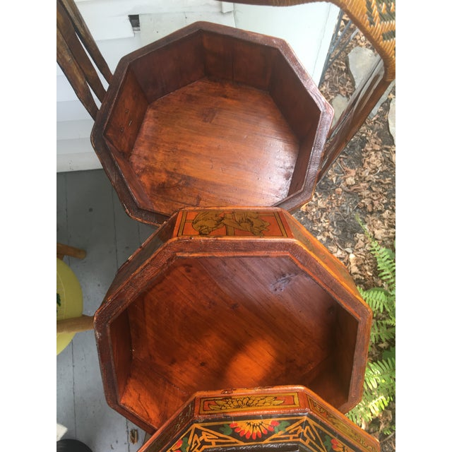 Early 19th Century Chinese Wedding Basket For Sale - Image 5 of 12