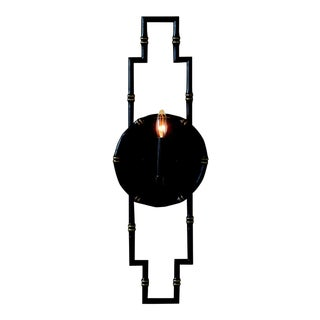 "Baldwin Black Sconce 30""h For Sale"