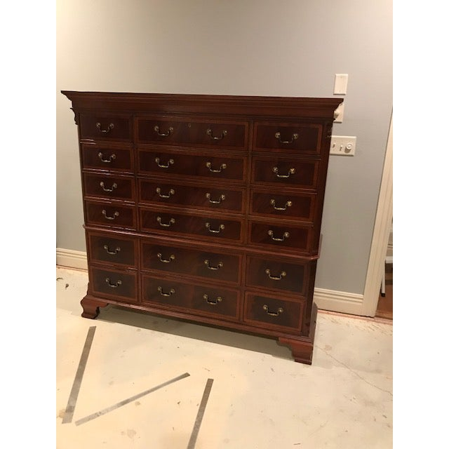 Ethan Allen 18-Drawer Chest - Image 3 of 9