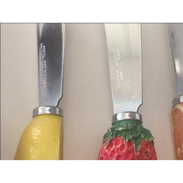 1970s Cheese Spreaders - Set of 4 - Image 3 of 6
