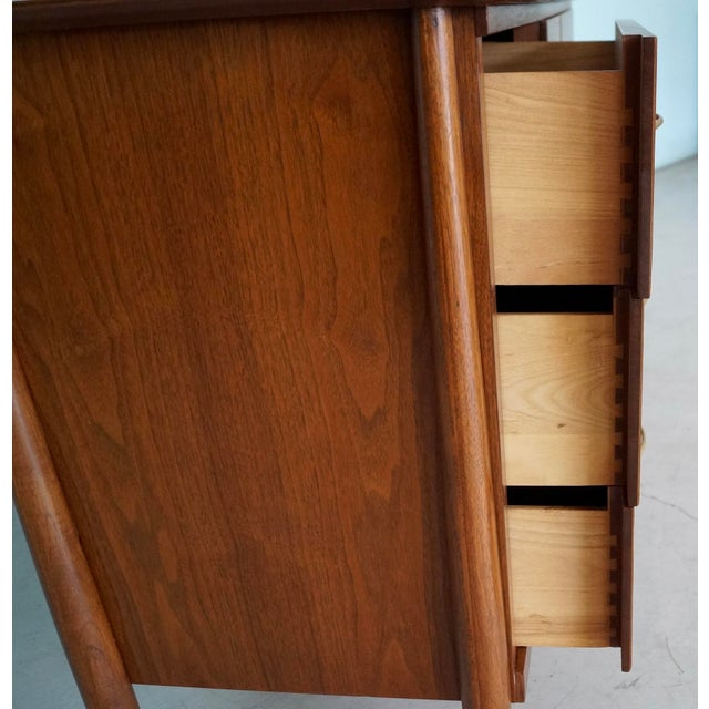 La Period Mid-Century Modern Lowboy Dresser For Sale - Image 11 of 13