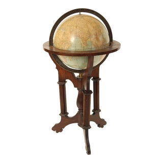 Rand McNally Library Globe For Sale